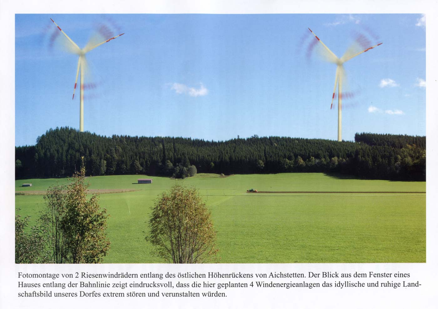 Windraeder Gotteswald Foto-Montage